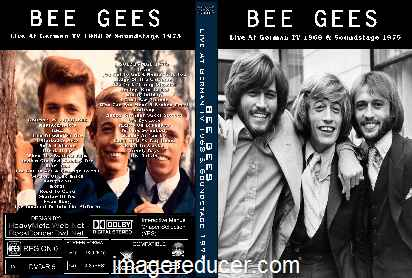 BEE GEES Live At German TV 1968 & Soundstage 1975 DVD