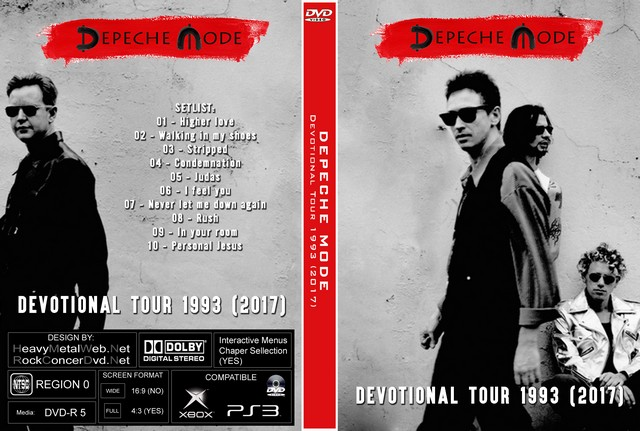 Depeche mode devotional tour 1993 2017 dvd - Depeche mode in your room live 2017 ...