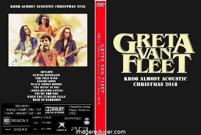 Kroq Almost Acoustic Christmas.Greta Van Fleet Kroq Almost Acoustic Christmas 2018 Dvd