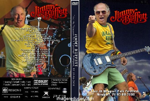 JIMMY BUFFETT Live At Newport Folk Festival, Newport, RI 03