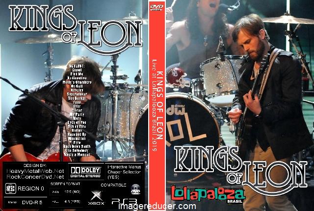 KINGS OF LEON Live at Lollapalooza Brazil 2019 DVD