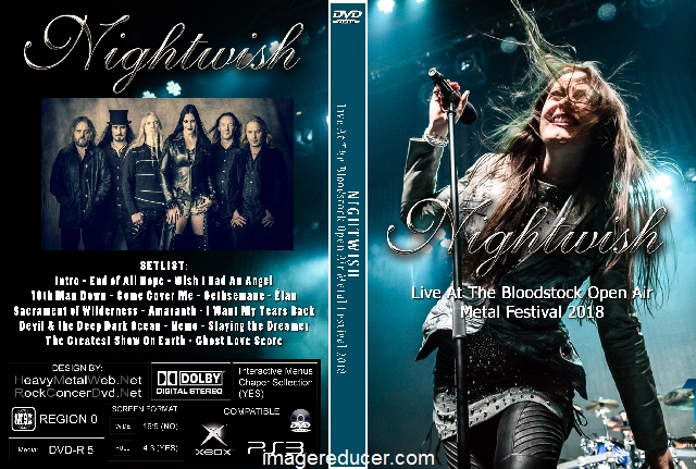 NIGHTWISH Live At The Bloodstock Open Air Metal Festival