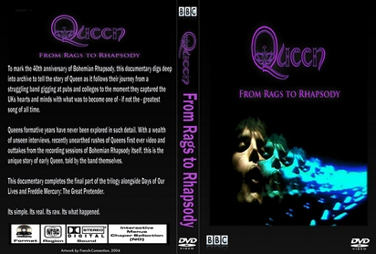 QUEEN From Rag To Rhapsody BBC Documentary DVD