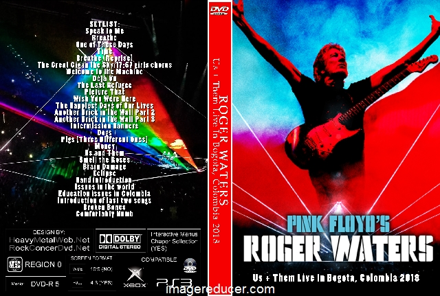 Roger Waters Us Them Live In Bogota Colombia 2018 2 Dvds