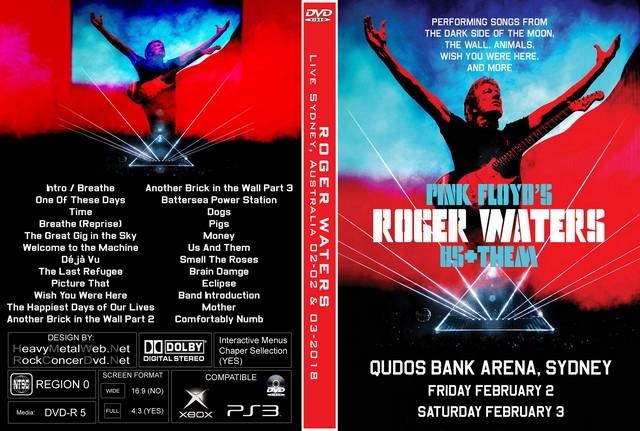 ROGER WATERS Us + Them Tour Qudos Bank Arena, Sydney, Australia 02