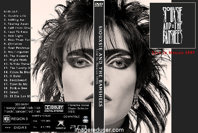 SIOUXSIE AND THE BANSHEES Live In Mexico 1995 DVD