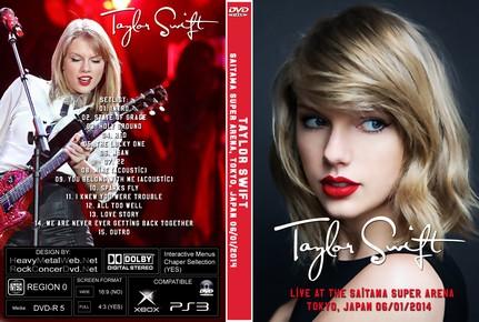 Taylor Swift Live At The Saitama Super Arena Tokyo Japan 06 01 2014 Dvd