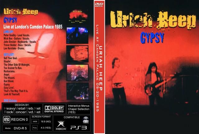 URIAH HEEP Live At Camden Palace, London, England 05-20-1985 DVD